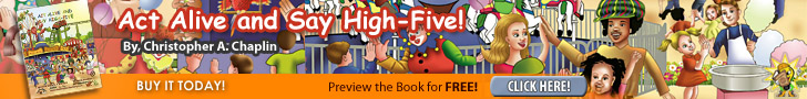 Click here to preview and buy Act Alive and Say High Five!